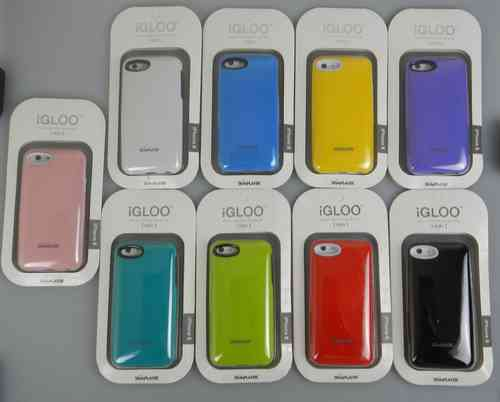 iGLOO Premium Case with Card Slot for Apple iPhone 5 & iPhone 5S