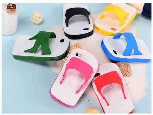 Flip-flop Inspired Silicone Case for Apple iPhone 5 & iPhone 5S