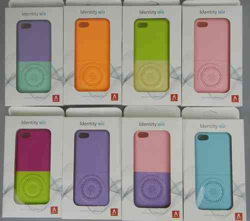 Identity Will Speaker Case for Apple iPhone 5 & iPhone 5S