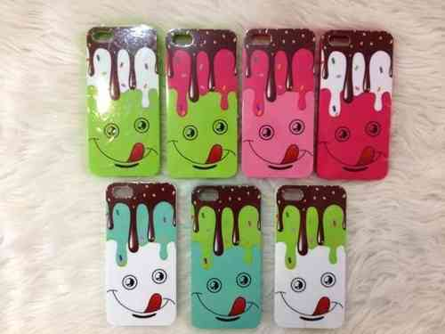 Ice Cream Melt Gel Case for Apple iPhone 5 & iPhone 5S
