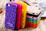 Mouse & Cheese Silicone Case for Apple iPhone 4/4S