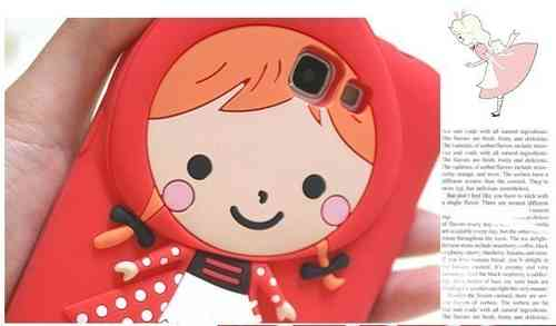 Little Red Riding Hood Silicone Case for Apple iPhone 4/4S