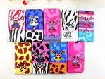 Animal Print Leather Case for Apple iPhone 4/4S