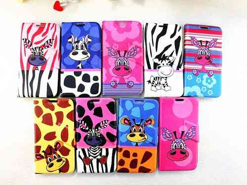 Animal Print Leather Case for Apple iPhone 5