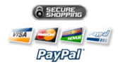 Paypal accepted payment methods: Visa, Mastercard, Paypal, Discover